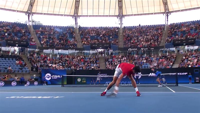 ATP Cup: Djokovic își rupe racheta