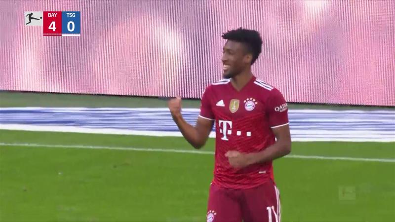 """Il Bayern si diverte con l'Hoffenheim, rivivi il 4-0 in 100"""""""