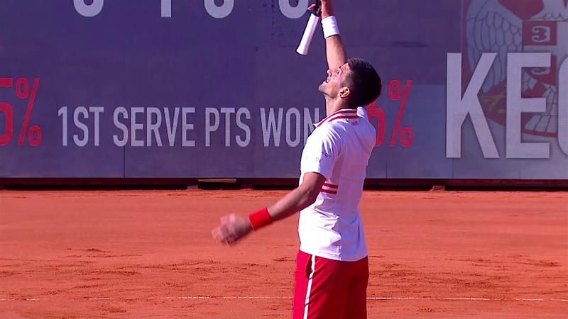 ATP Belgrad: Novak Djokovic, victorie clară în sferturi în fața compatriotului Miomir Kecmanovic