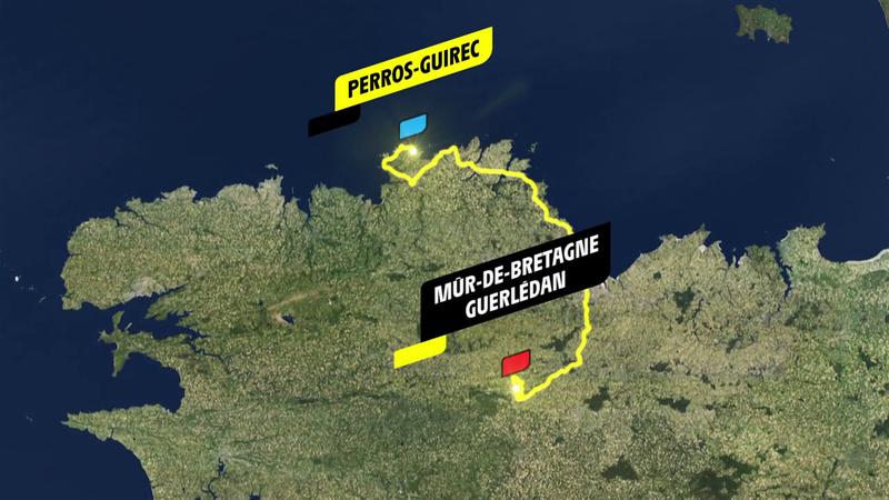 Stage 2 profile: Perros-Guirec - Mûr-de-Bretagne Guerlédan