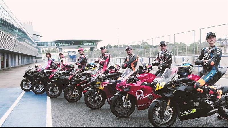 Bagnaia, Marini, Bastianini: gli highlights del test Ducati a Jerez