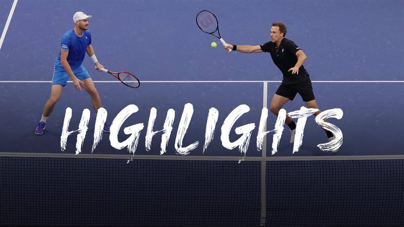 Hoogtepunten Murray/Soares - Peers/Polasek - US Open Hoogtepunten