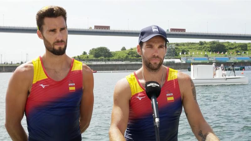 Remo | Entrevista en Eurosport a las tres parejas con diploma olímpico