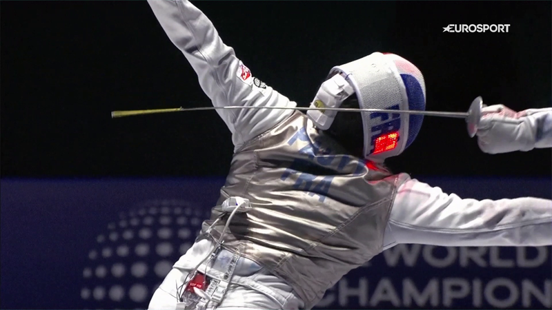 60 Second Pro - Race Imboden gives insight into what makes a world-class fencer