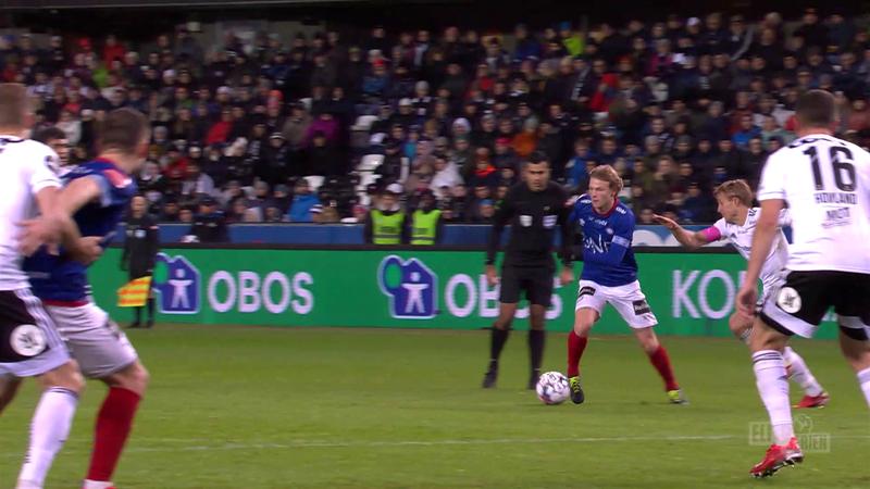 Eliteserien: Odin Thiago Holm a marcat un gol fabulos pentru Valerenga în meciul cu Rosenborg
