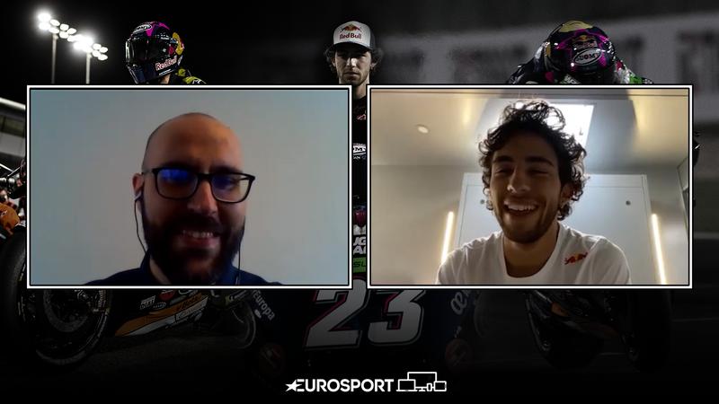 """Bastianini: """"Non avrei mai pensato di correre contro Rossi"""""""
