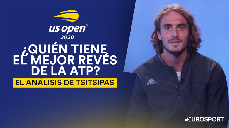 US Open 2020: Thiem, Federer... Tsitsipas evalúa el mejor revés de la ATP