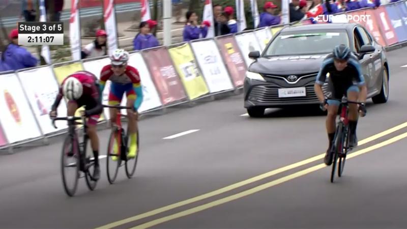 Tour of Fuzhou: Slik im Sprint nicht zu schlagen, Davidenok schnappt sich Gelb