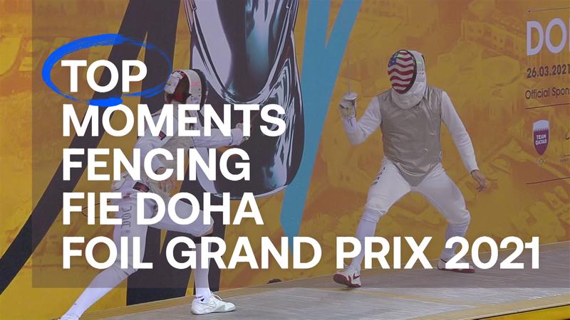 TOP 5: Los mejores momentos del GP de Doha de esgrima