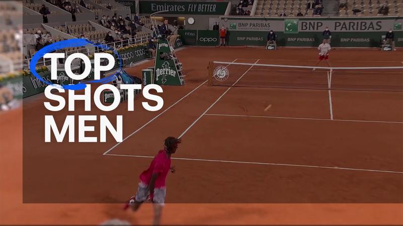 El Top 10 con los mejores golpes de Roland-Garros masculino