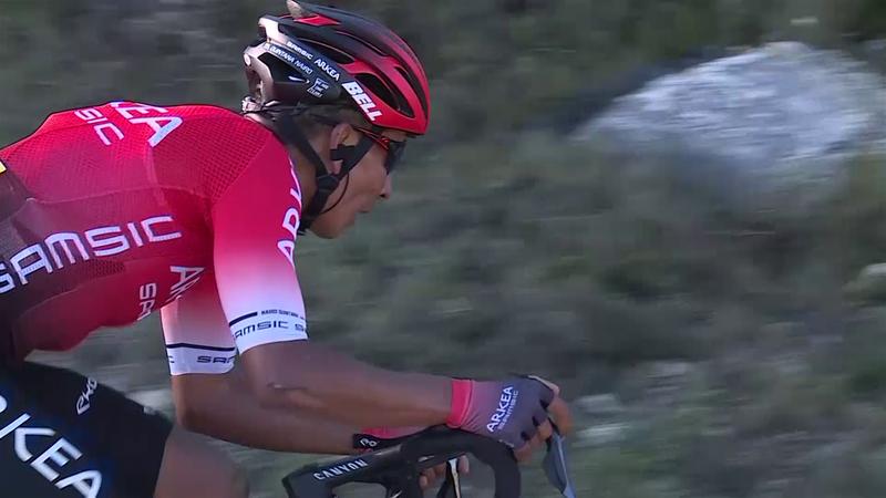 Tour de los Alpes Marítimos (2ª etapa): Nuevo golpe en la mesa de Quintana