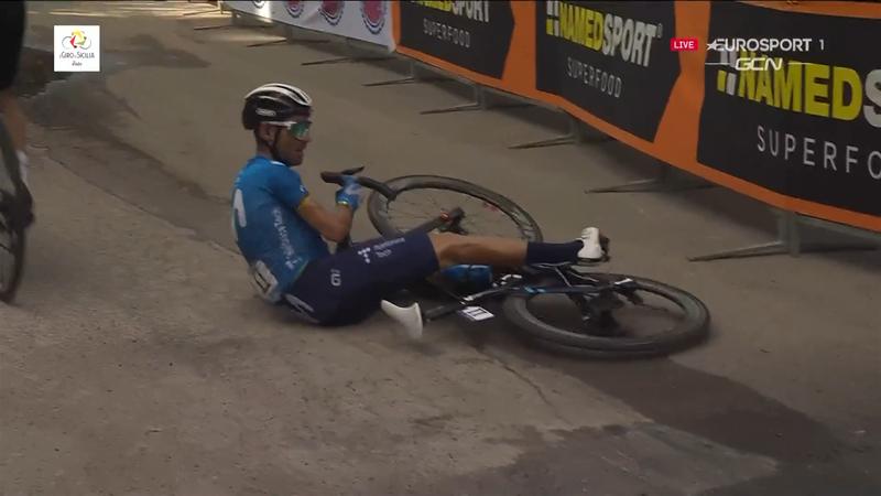 La victoire… puis la chute : Valverde renoue (déjà) avec le succès mais tombe juste après