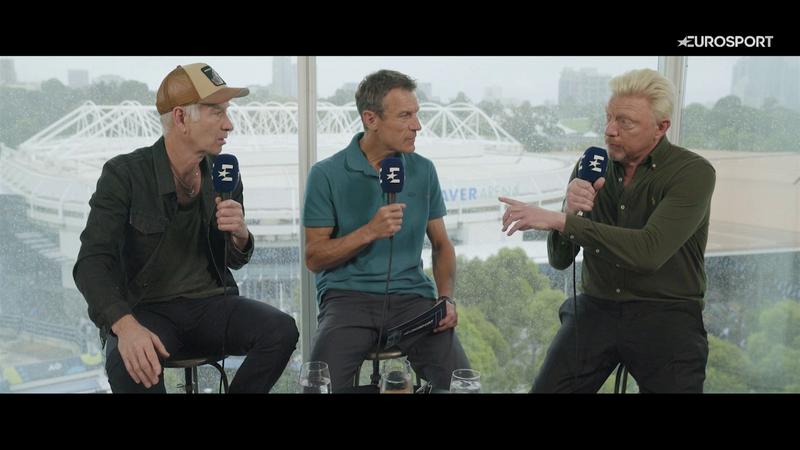 Australian Open: 3rd Tennis Legends Episode shot in Melbourne - full episode podact in UK coms