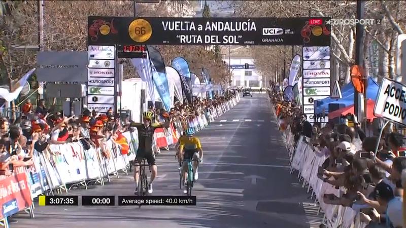 Vuelta a Andalucía (4ª etapa): Haig celebra hoy, Fuglsang y Landa velan armas para mañana
