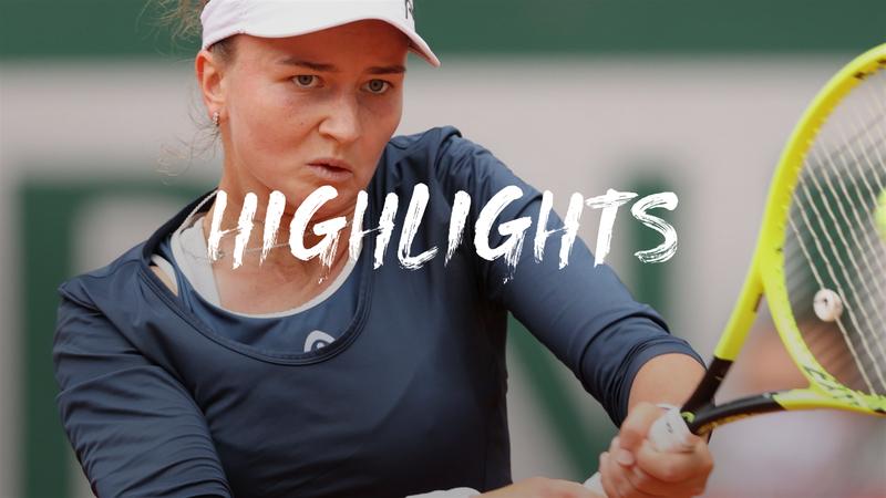 3. Runde: Paukenschlag - Krejcikova nimmt Svitolina raus