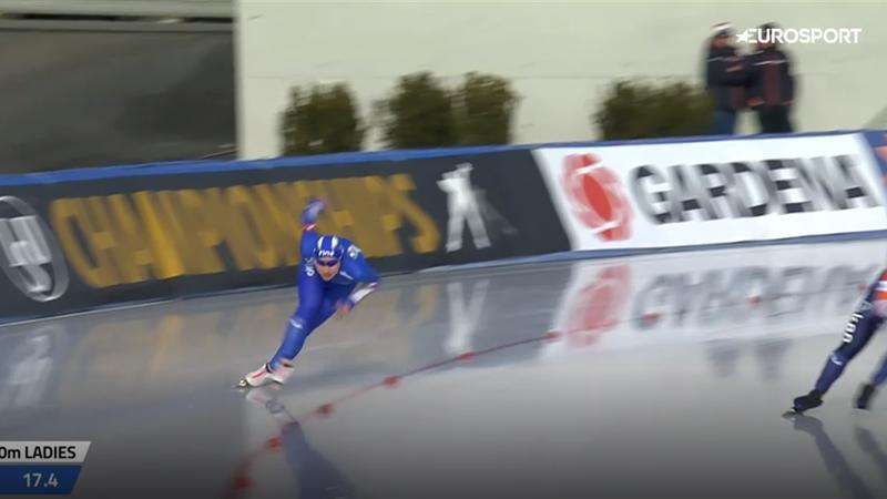Francesca Lollobrigida seconda nel 1500 metri e bronzo europeo nell'all-round