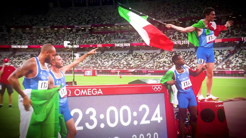 Atletica oro d'Italia a Tokyo: il film delle medaglie in 90 secondi