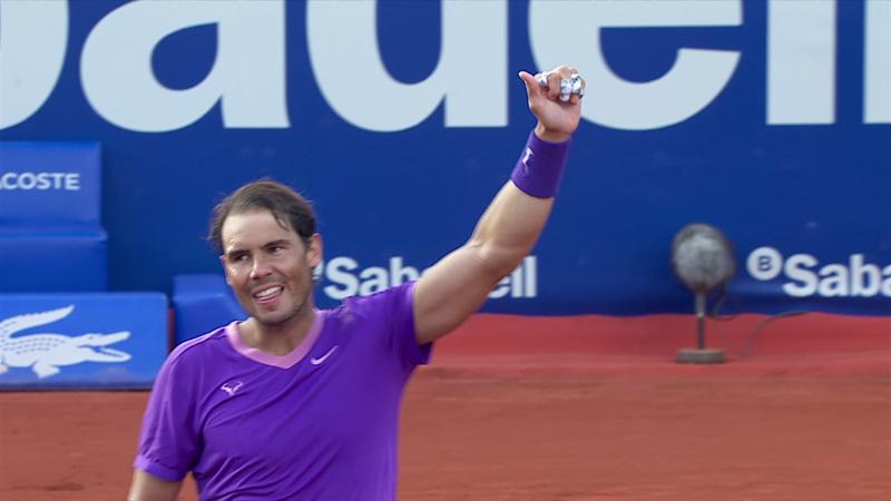 ATP Barcelona: Rezumatul partidei Nadal - Ivashka