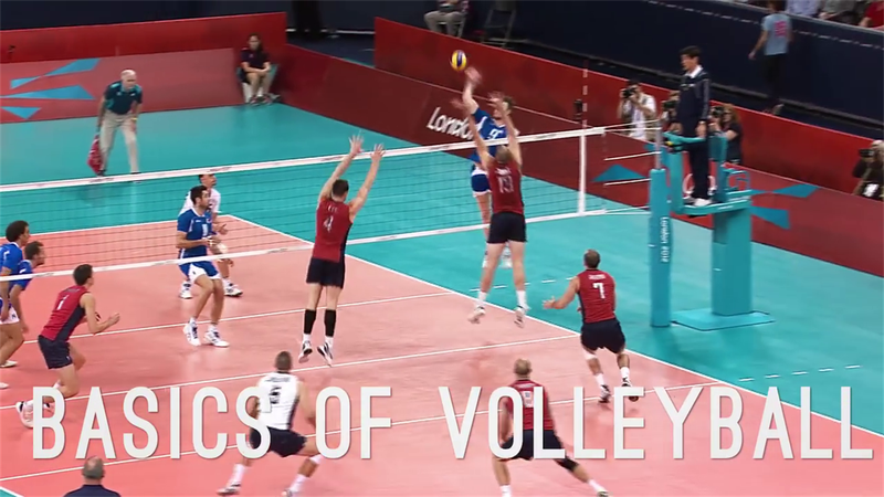 How does Olympic volleyball work?