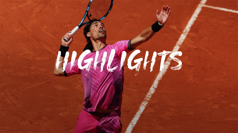 Highlights: Fognini downs Fucsovics to advance at Roland-Garros