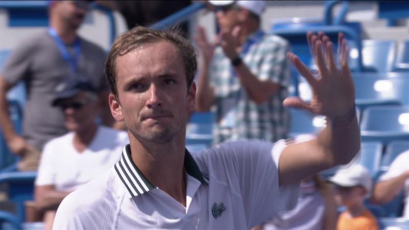 Daniil Medvedev e în semifinale la Cincinnati, după o victorie impresionantă cu Pablo Carreno Busta