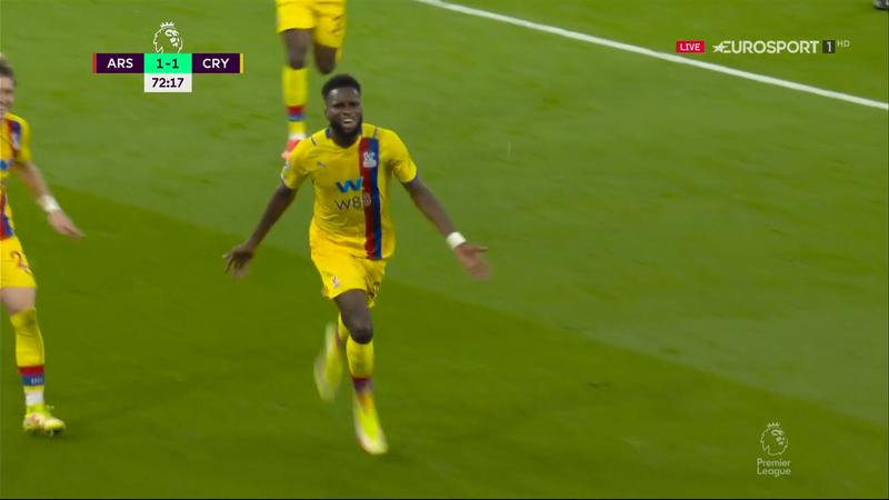 Arsenal – Crystal Palace 1-2. Edouard îi aduce pe oaspeți în avantaj pe Emirates