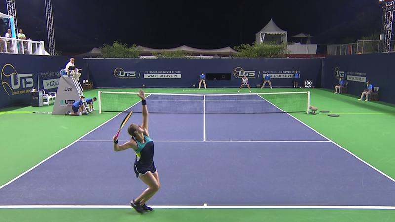 Павлюченкова разбила Жабер на выставочном турнире, Онс едва не покалечила мячом судью на вышке